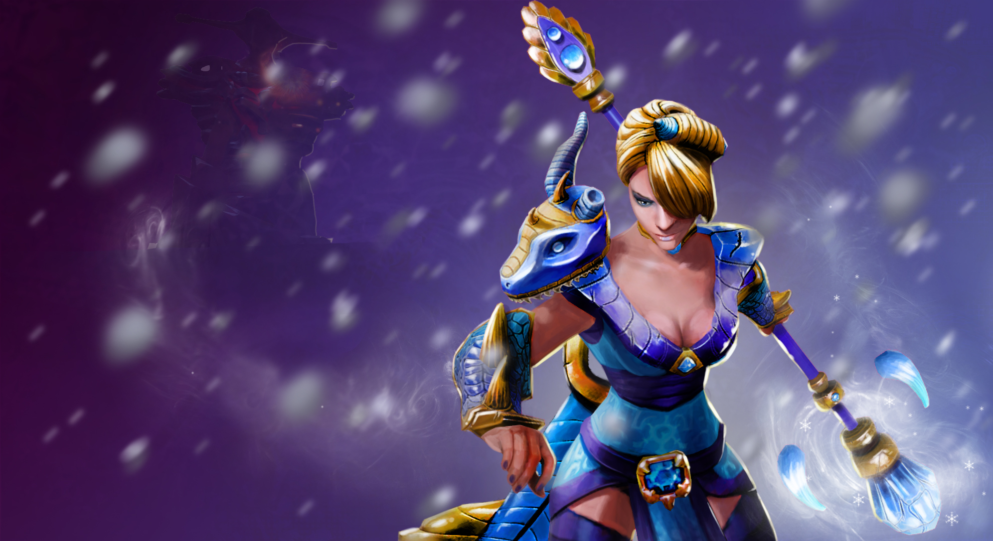 Crystal Maiden Dota 2 Immortals: Steam Workshop :: Maiden Of The Crystal Wyvern