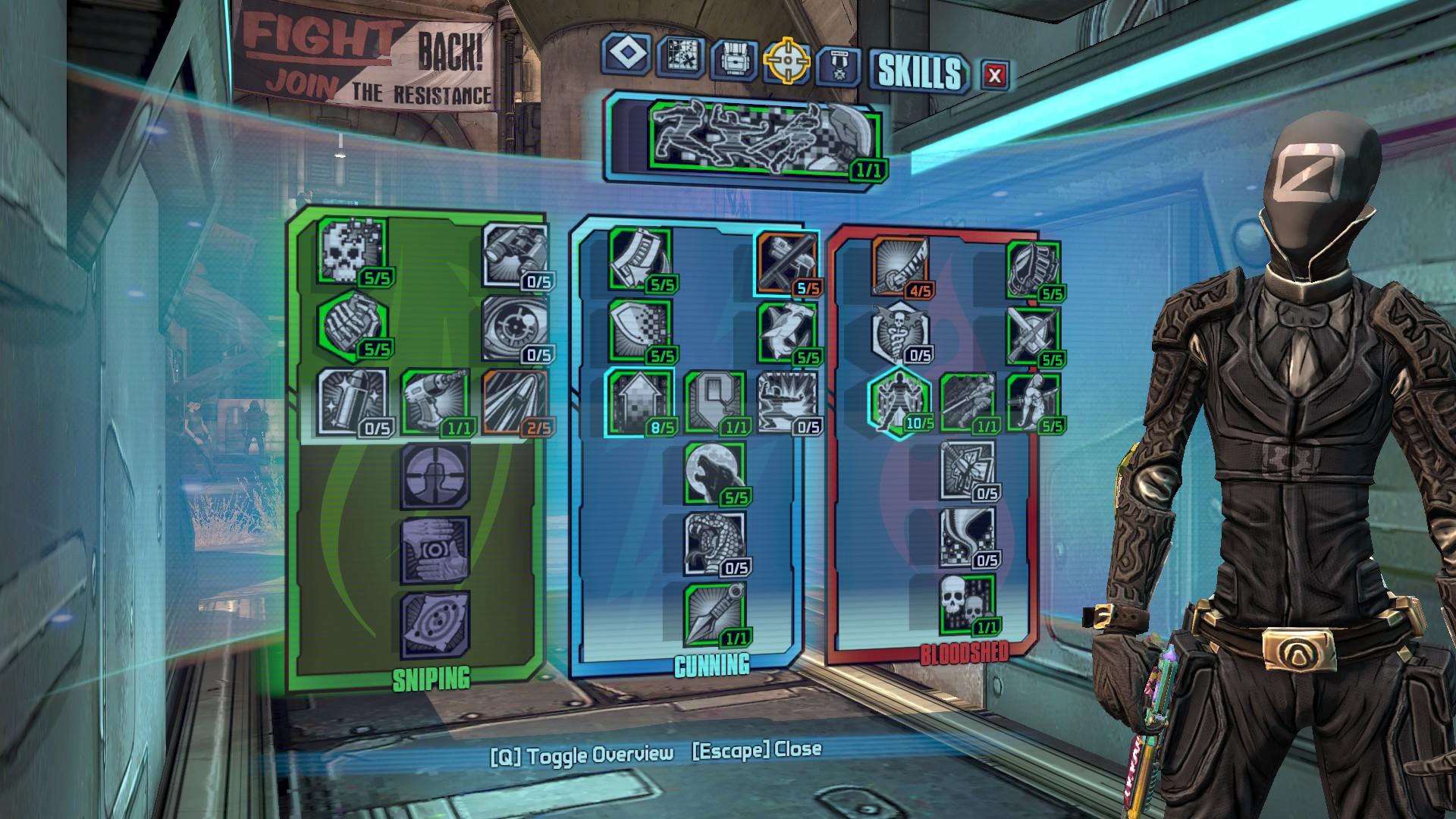 Borderlands  Melee Zero Builds