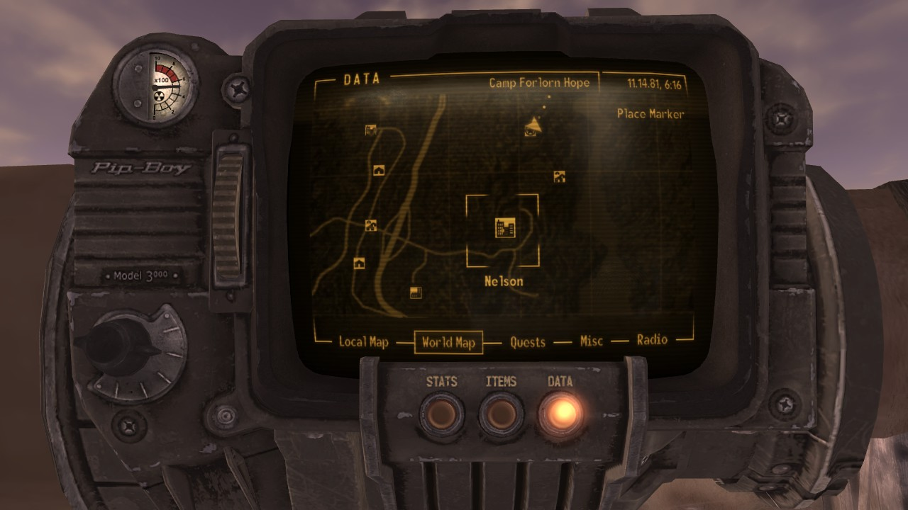 fallout new vegas stats guide