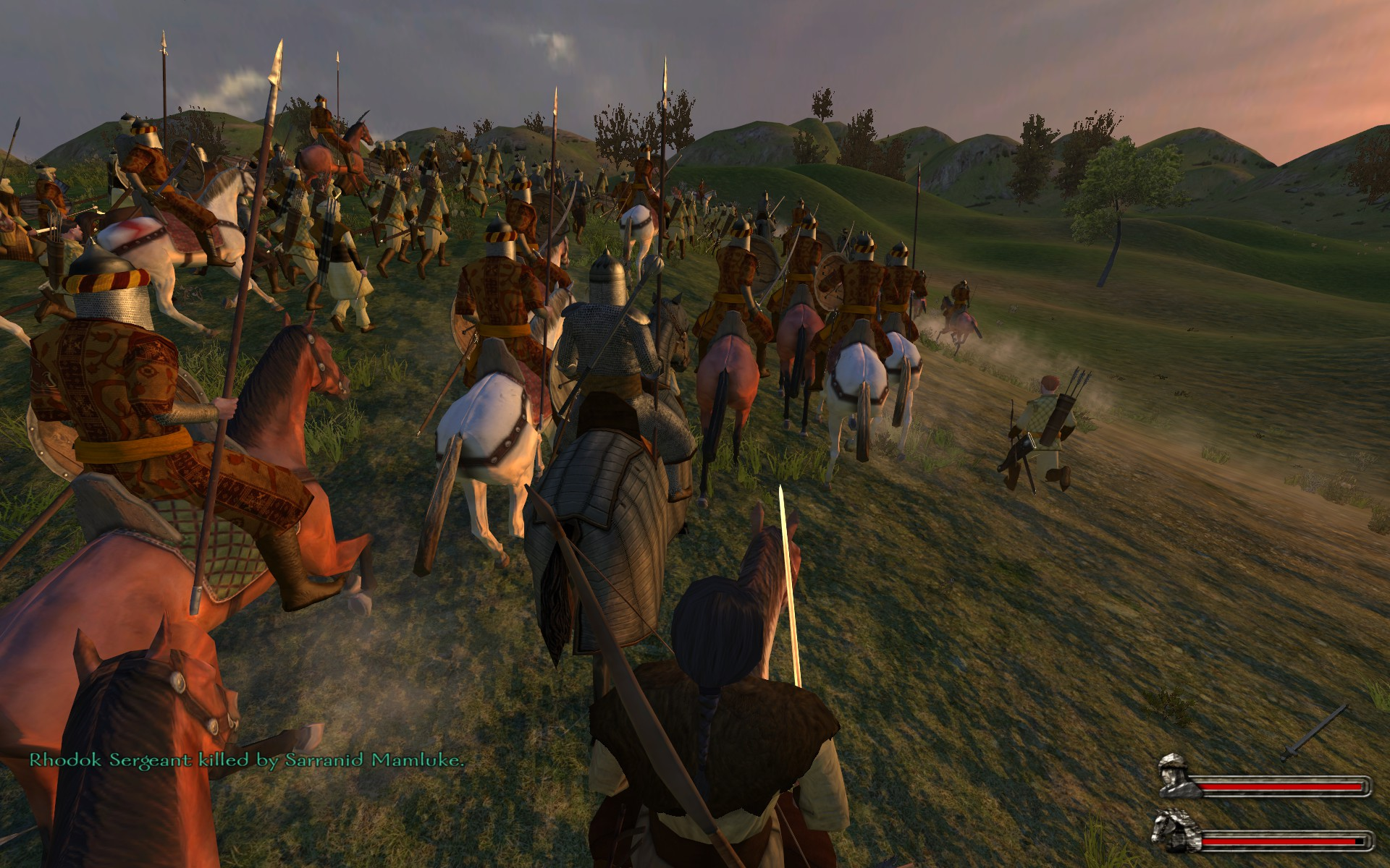 how to build an army in mount and blade warband