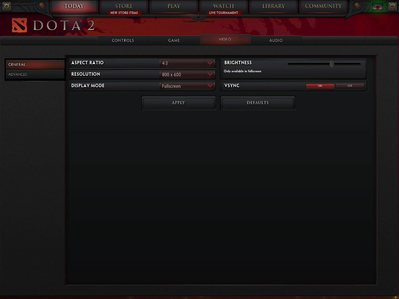 how to set steam launch properties