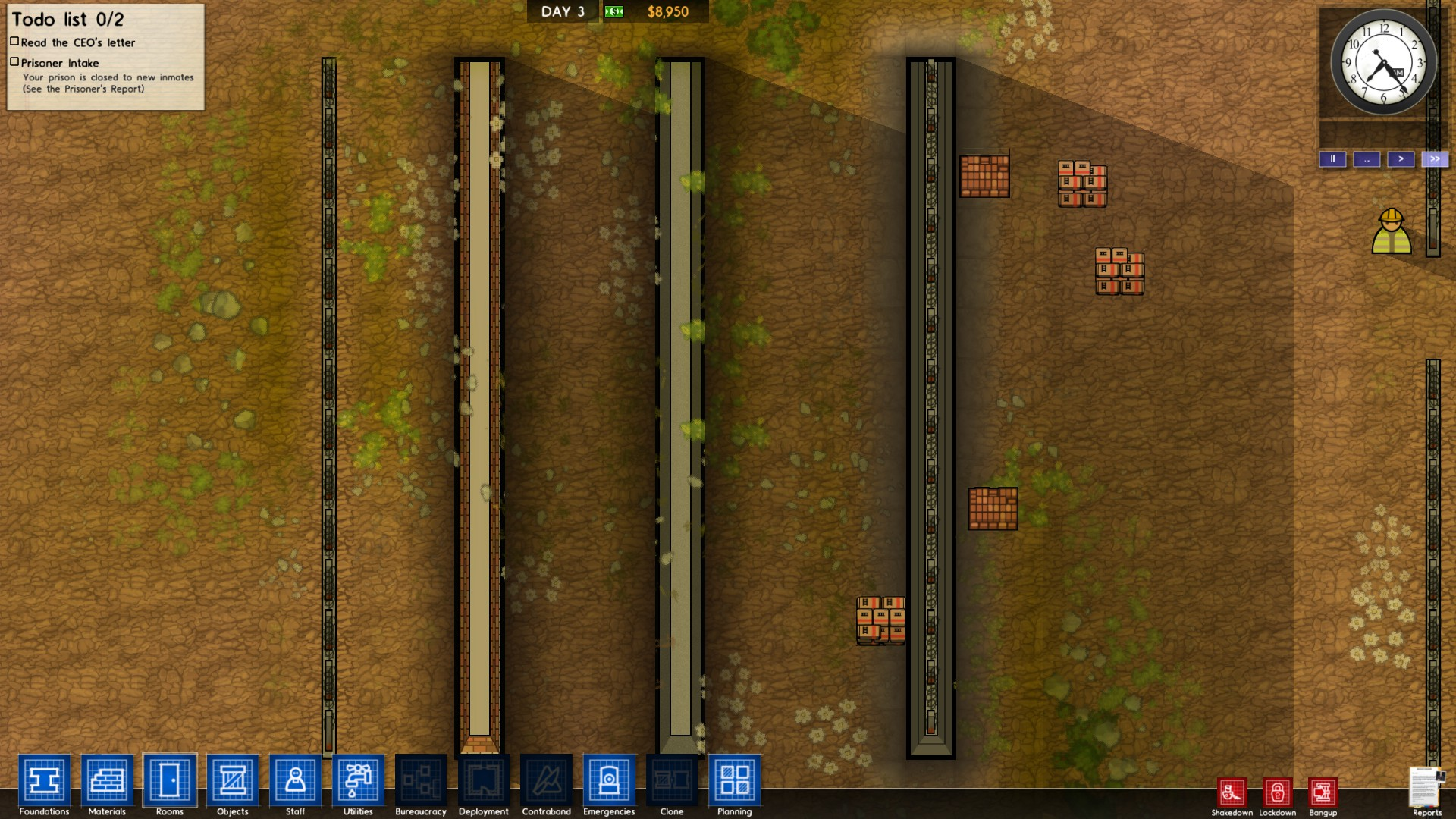 Steam community guide newbies guide to prison for Jail architect