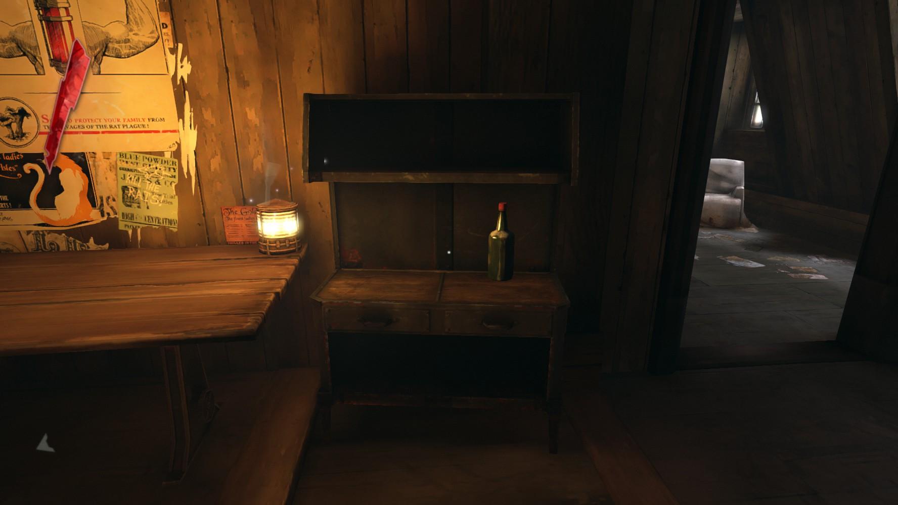 Dishonored  Corvos Room